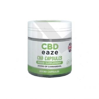 Full Spectrum CBD Capsules 200mg