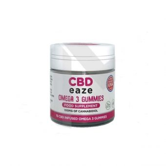 CBD Eaze Omega 3 100mg CBD Gummies
