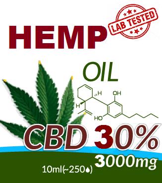 CBD - HEMP OIL 30%