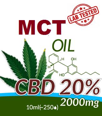 MCT - CBD OIL 20%
