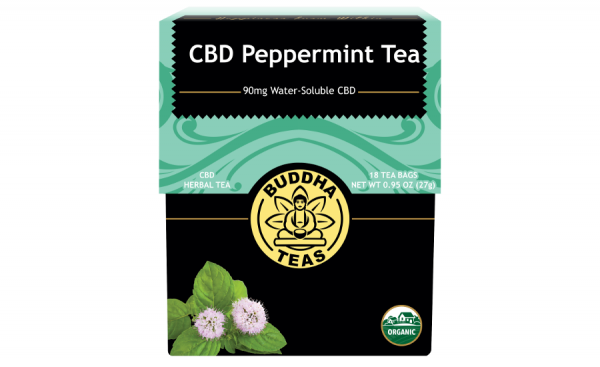 CBD Peppermint Infusion Tea Bags 5mg