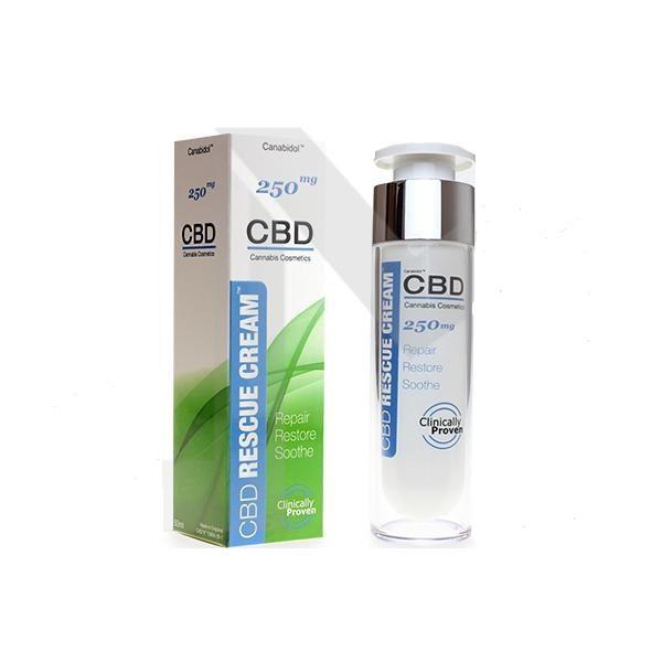 CBD Skin Care 250mg Rescue Cream – Size 50ml