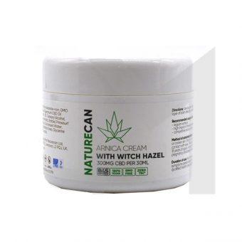 CBD 300mg Arnica Cream with Witch Hazel 30ml