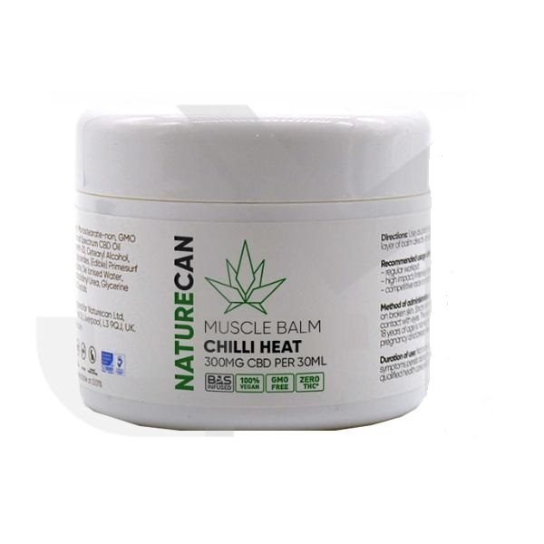 CBD Chilli Heat Muscle Balm – 300mg CBD