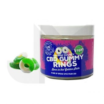 CBD Edibles 10mg Gummy Rings – Small Pack