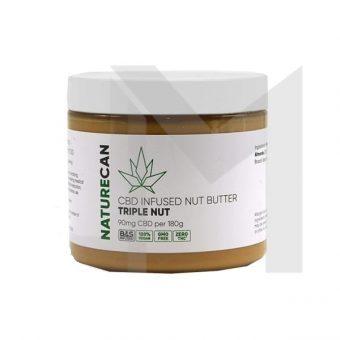CBD Peanut Butter 90mg CBD 180g Nut Butter Triple Nut