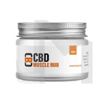 CBD 100ml Muscle Rub Balm – 200mg