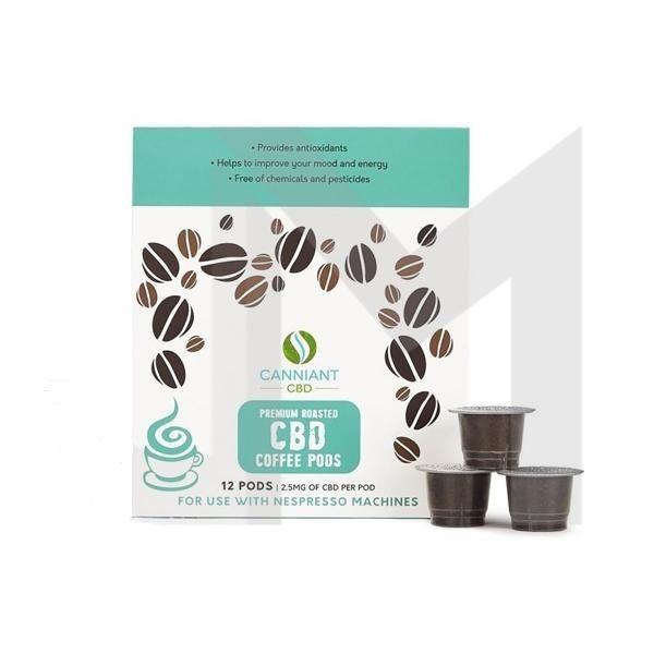 Nespresso Coffee Pods 30mg CBD – Pack of 12