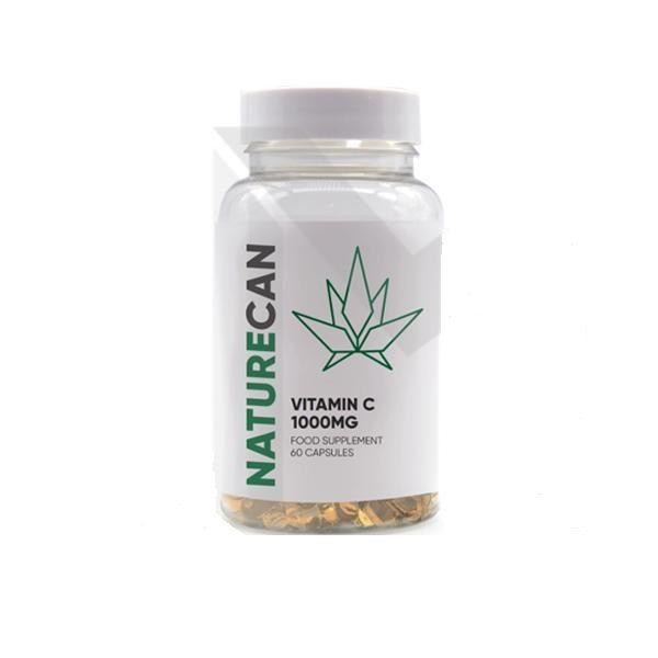 CBD 1000mg  Vitamin C Capsules – 60 Caps