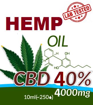 CBD - HEMP OIL 40%