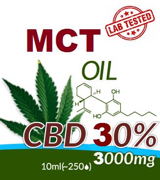 CBD - MCT OIL 30%