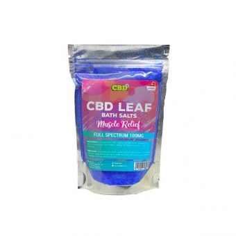 CBD Bath Salts – Full Spectrum 100mg CBD Bath Salts – Muscle Relief
