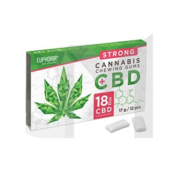 CBD 18MG Strong Cannabis Chewing Gums
