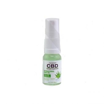 CBD Antibacterial Hand Sanitiser 10ml – Kills Germs Fast