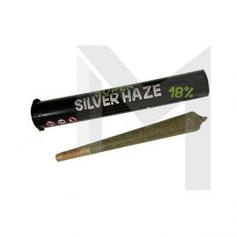Herb Super Silver Haze 18% Pre Rolled CBD Hemp Flower