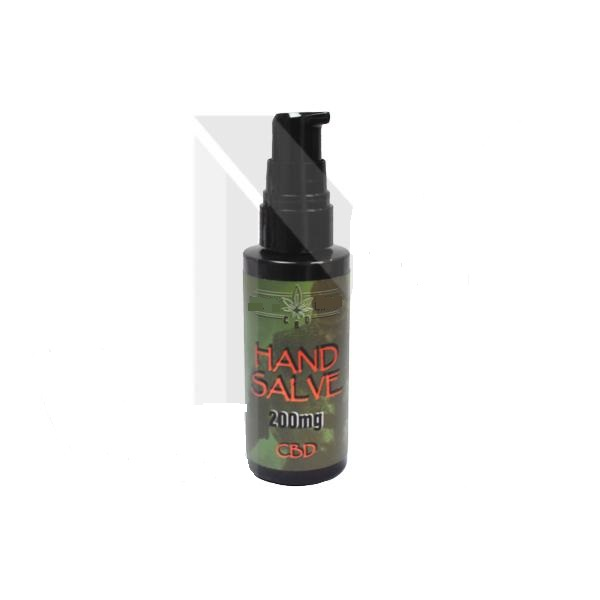 Antibacterial 200mg CBD Hand Salve 50ml