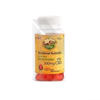 Hemp 300mg CBD Multivitamin Gummies – 30 Gummies