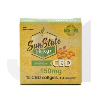 CBD Softgels – 150mg – 15 Softgels
