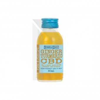10 x Ginger Turmeric 12mg CBD Drink 60ml