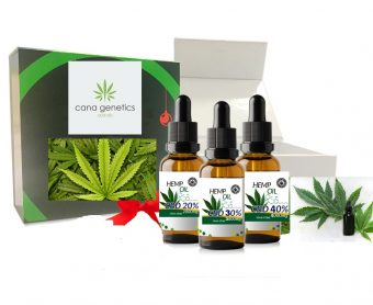 Cana Genetics CBD Oil – Gift Box With FREE Gift