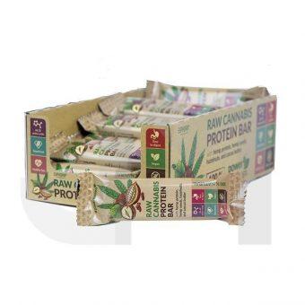 Raw Cannabis Protein Bar