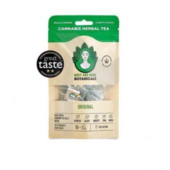CBD Cannabis Herbal Tea Bags