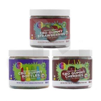 CBD 400mg Gummies – Small Pack